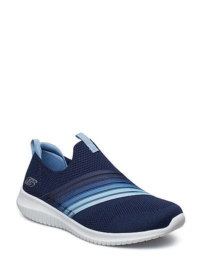 Womens Ultra Flex Sneaker Blau SKECHERS
