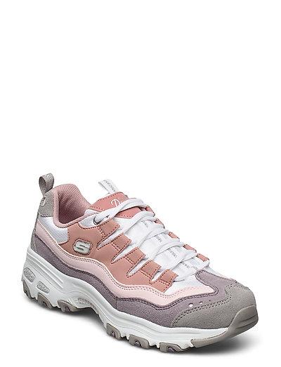 Womens D'lites Sure Thing (Pkpr Pink Purple) (799.20 kr) Skechers |