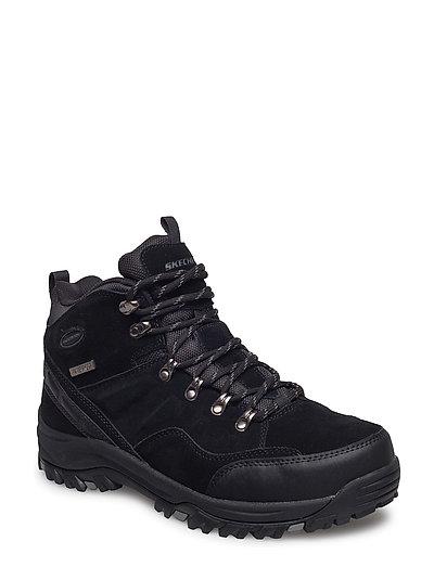 Mens Relment - Pelmo - Waterproof Shoes Boots Winter Boots Schwarz SKECHERS