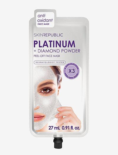 Platinum Peel-Off Face Mask (3 MASKS) - SILVER