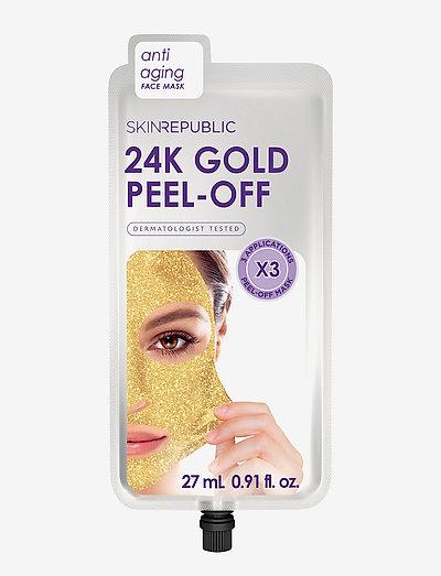 Gold Peel-Off Face Mask (3 MASKS) - GOLD