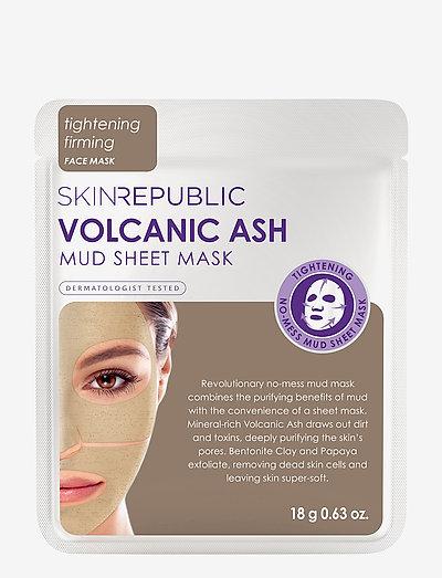 Volcanic Ash Mud Sheet Face Mask - BEIGE