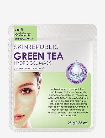 Green Tea Hydrogel Face Mask Sheet - GREEN