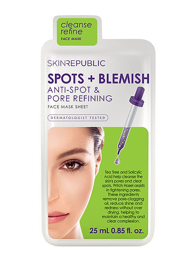 Spots and Blemish Face Mask - CLEAR