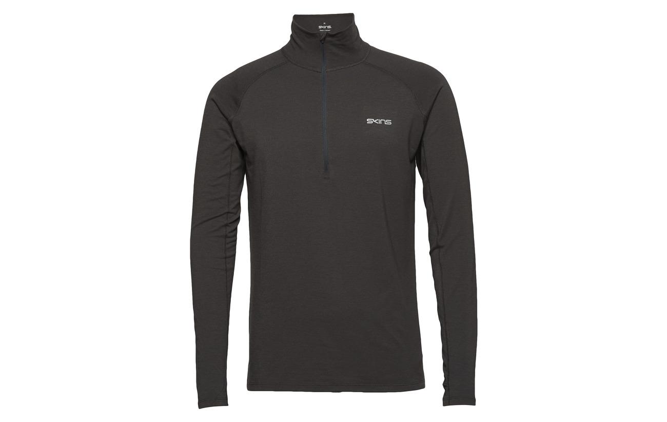L Unden s Charcoal Light Marle Mens Activewear Midlayer Skins Fleece 56qXOAxOw