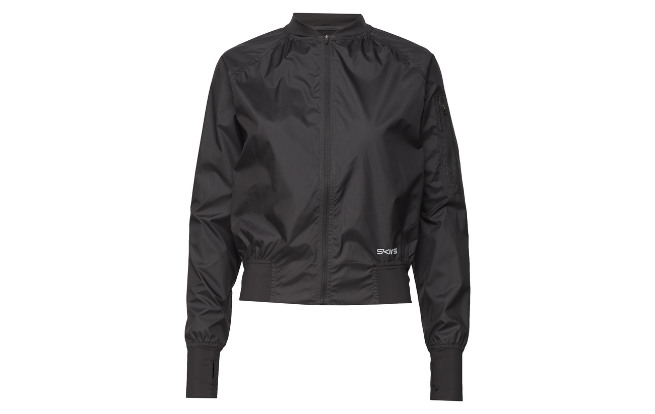 Bomber 100 Équipement Polyester Blackwhit Elastane Intérieure Sunfeather Doublure Jacket Polyamide Womens Trylen 8 Activewear Skins 92 6wZOqtx