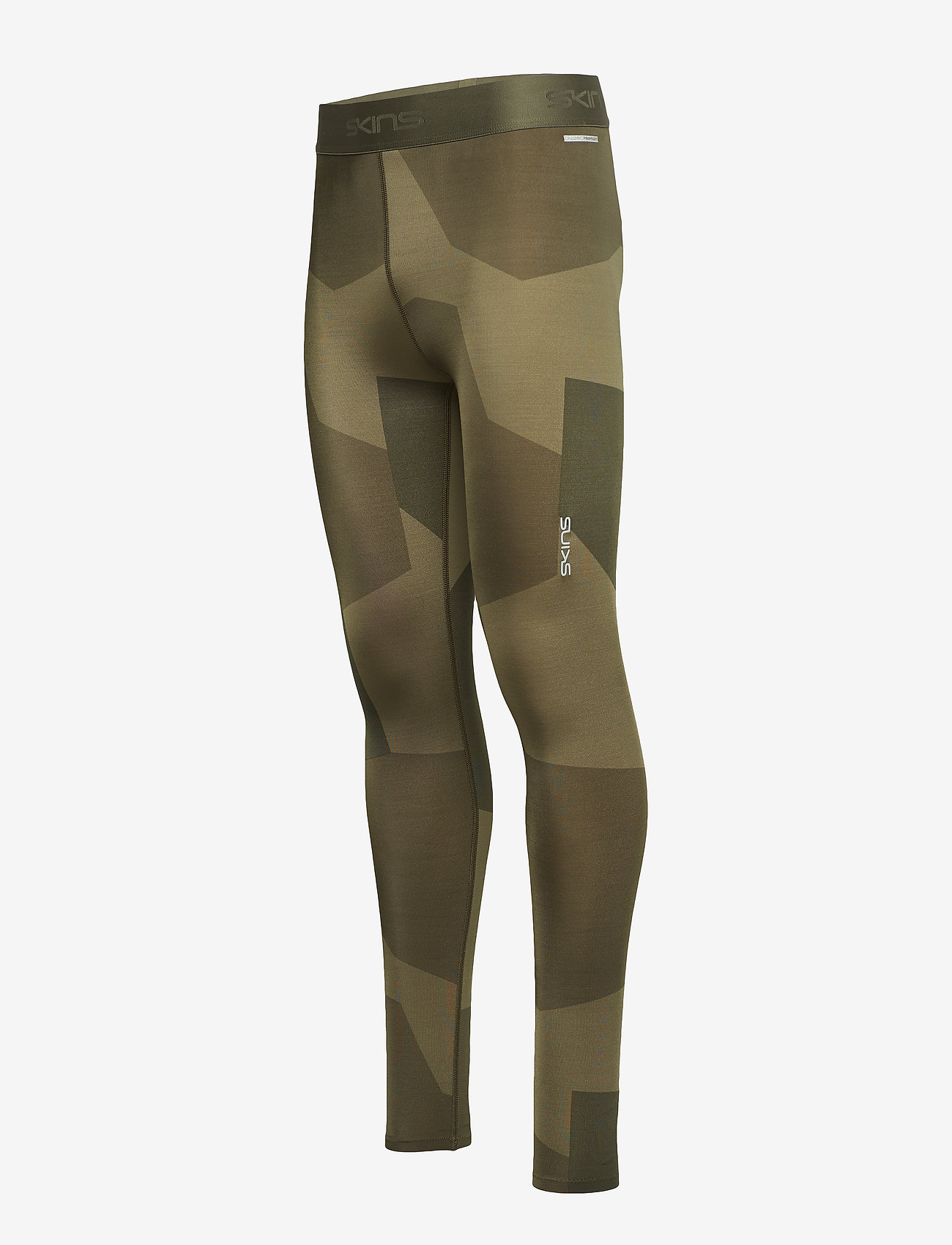 Skins - DNAmic Primary Mens Long Tights - running & training tights - deconst camo utility - 1