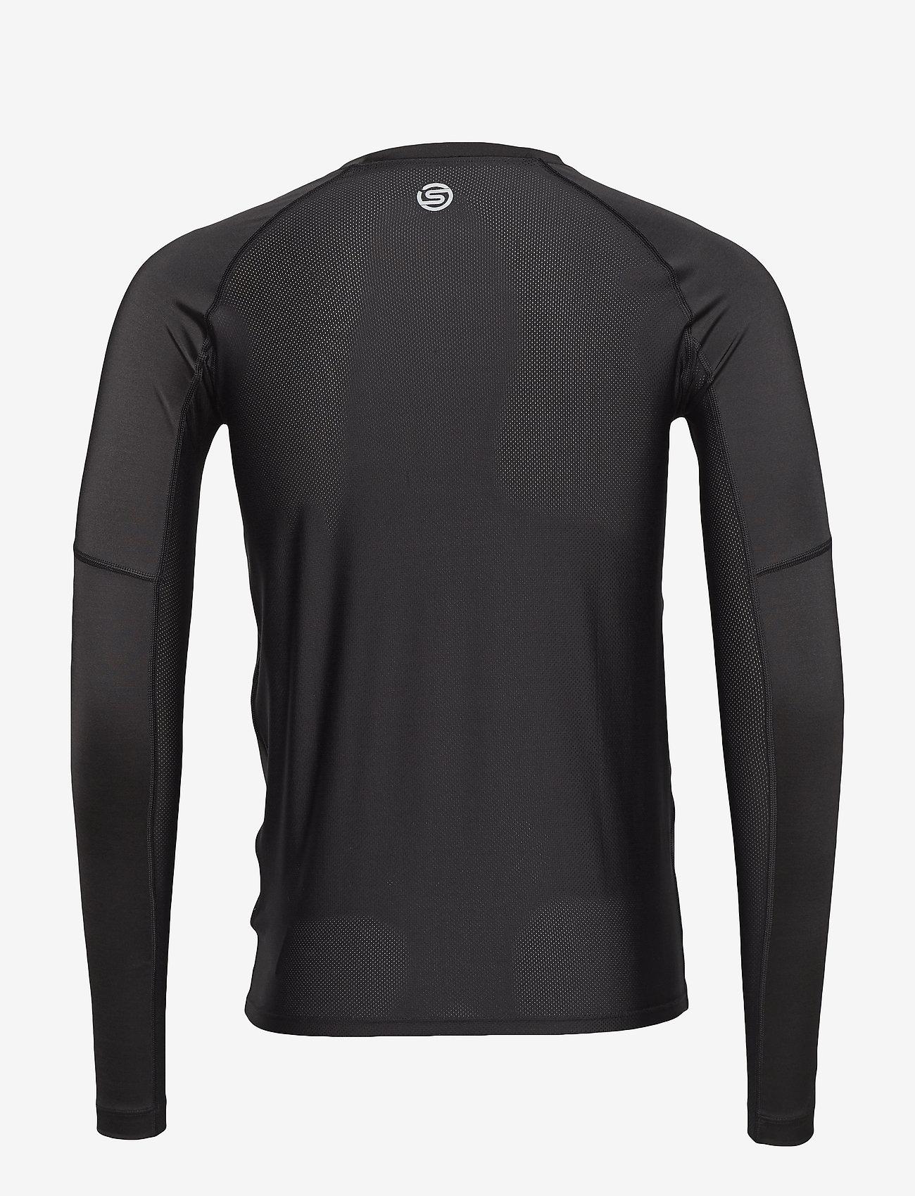 Skins - DNAmic Primary Mens L/S Top - bluzki z długim rękawem - black - 1