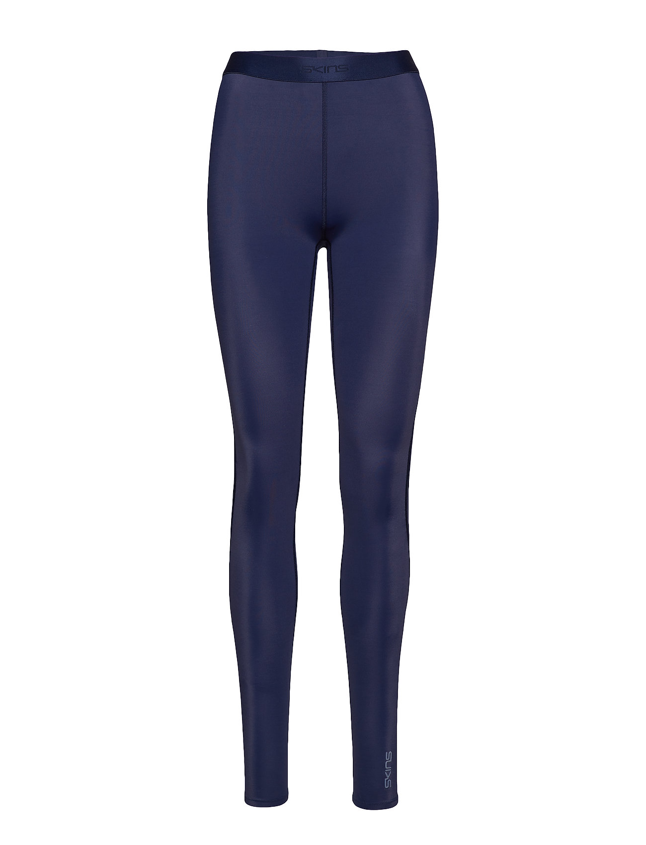 Skins DNAmic Womens Long Tights - NAVY BLUE