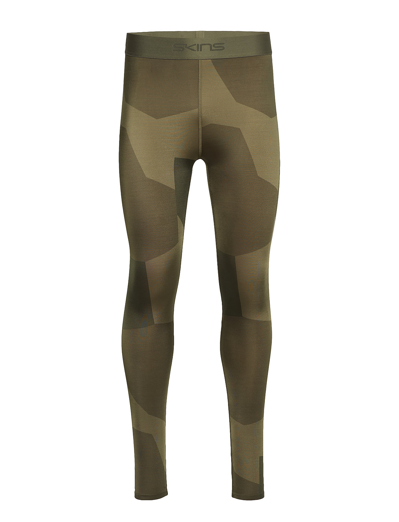 Skins DNAmic Primary Mens Long Tights - DECONST CAMO UTILITY