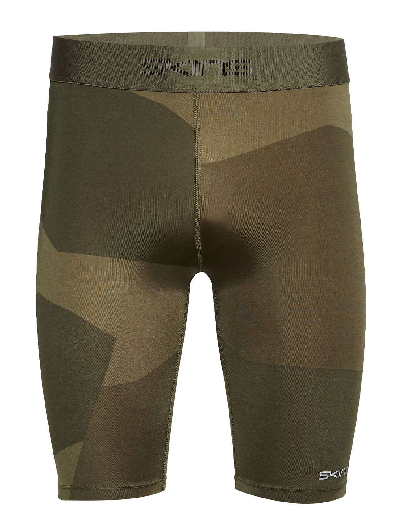 Skins DNAmic Primary Mens 1/2 Tights - DECONST CAMO UTILITY