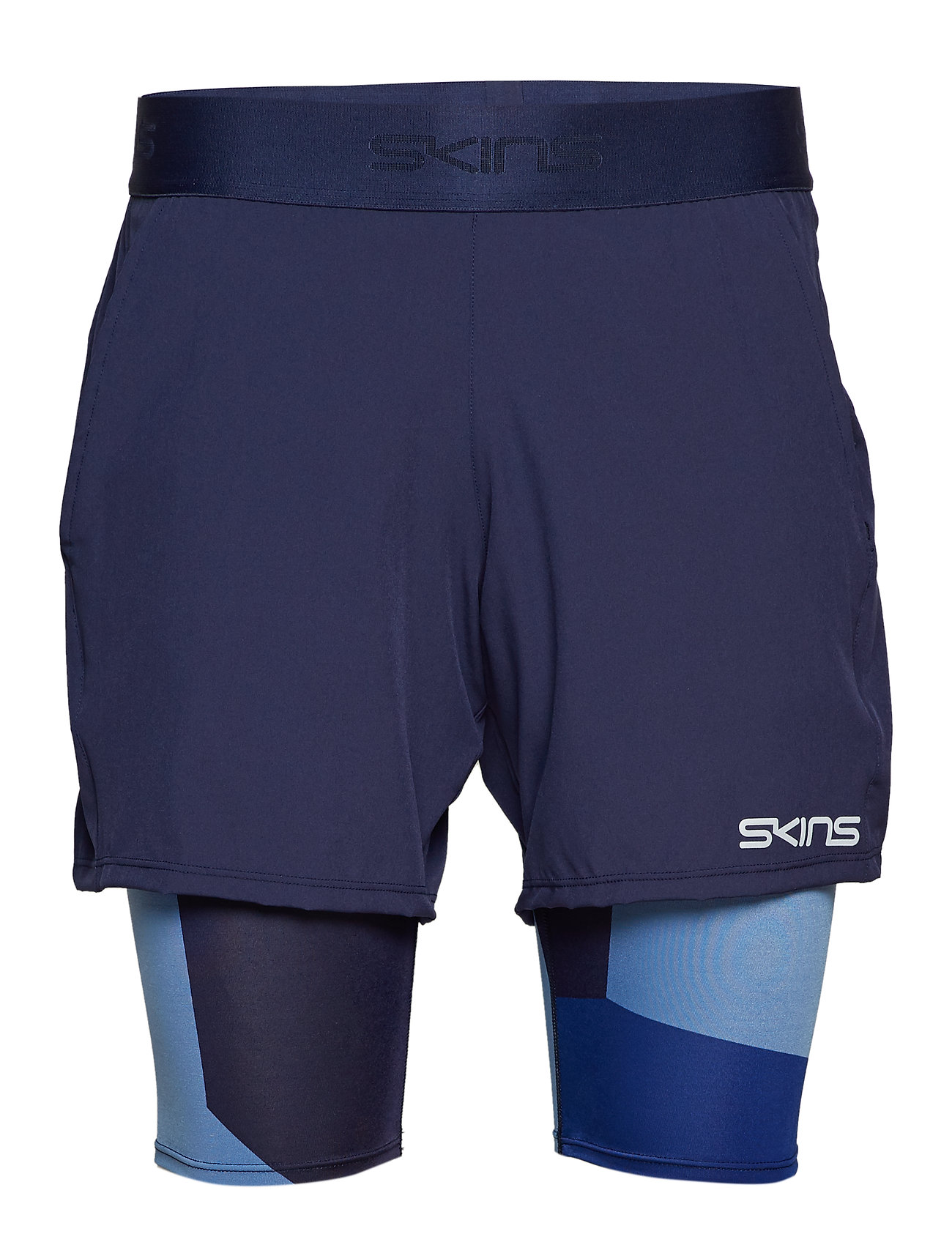 Skins DNAmic Primary Mens Superpose 1 2 Tight Shorts