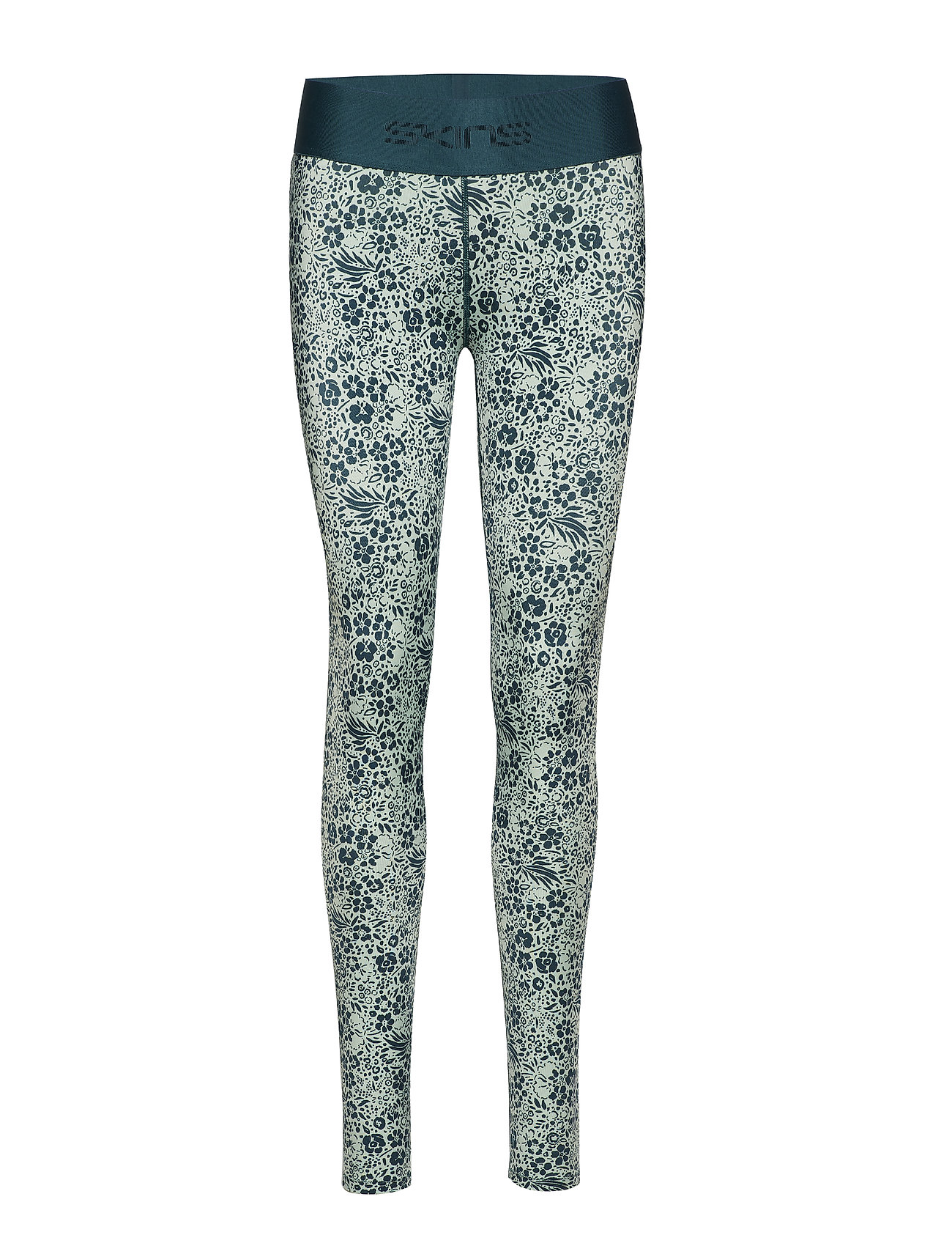 Skins DNAmic Primary Womens Long Tights - PETIT FLORAL LITCHEN