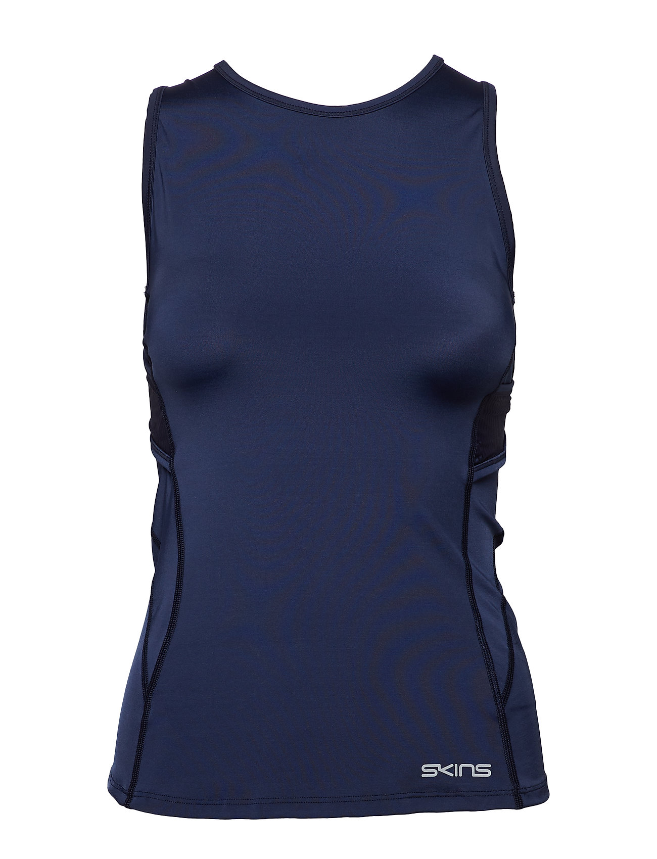 Skins DNAmic Primary Womens S/L Top - NAVY BLUE