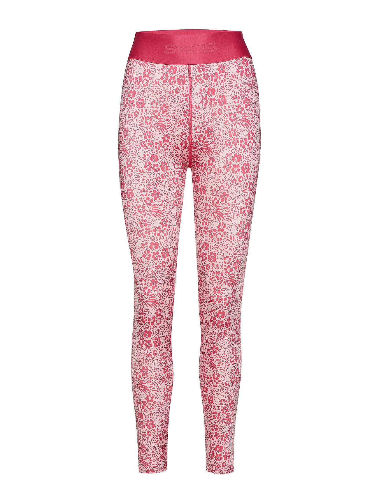 Skins DNAmic Primary Womens 7/8 Tights Skyscraper - PETIT FLORAL PINK