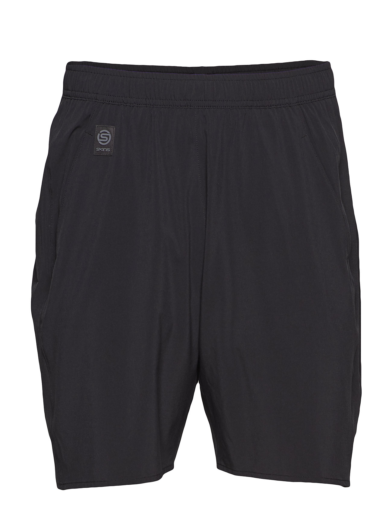 Skins Activewear Square Mens Short 7 - BLACK