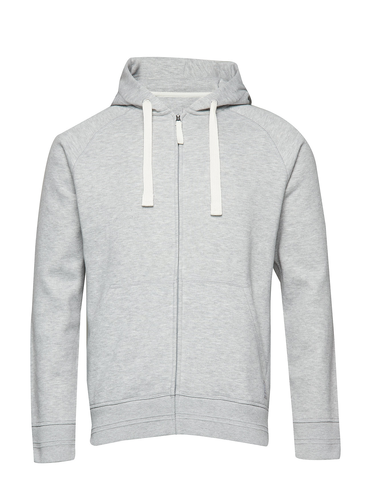 Skins Activewear Linear Tech Fleece Mens Hoodie - SILVER MARLE