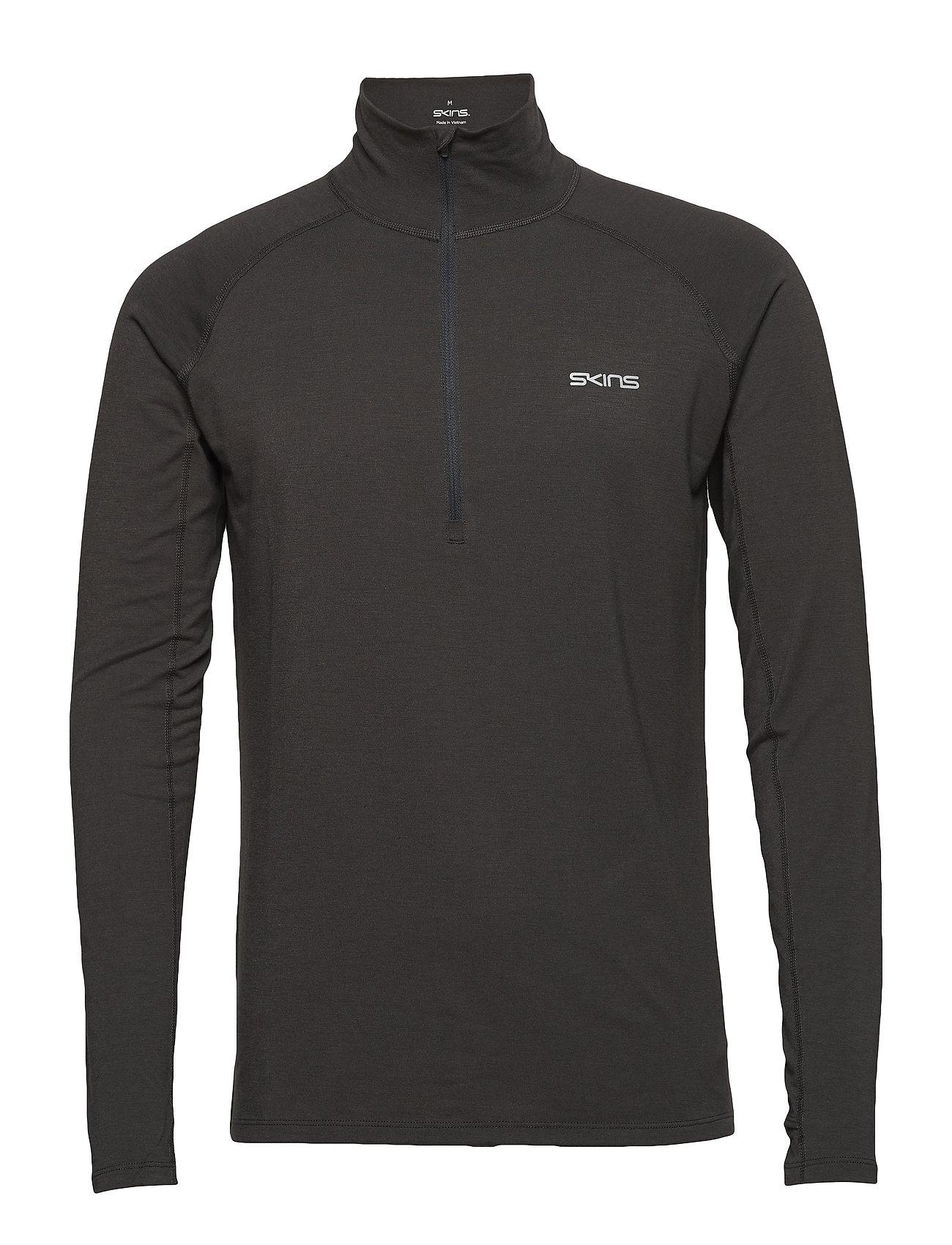 Skins Activewear Unden Light Midlayer Mens L/S Fleece