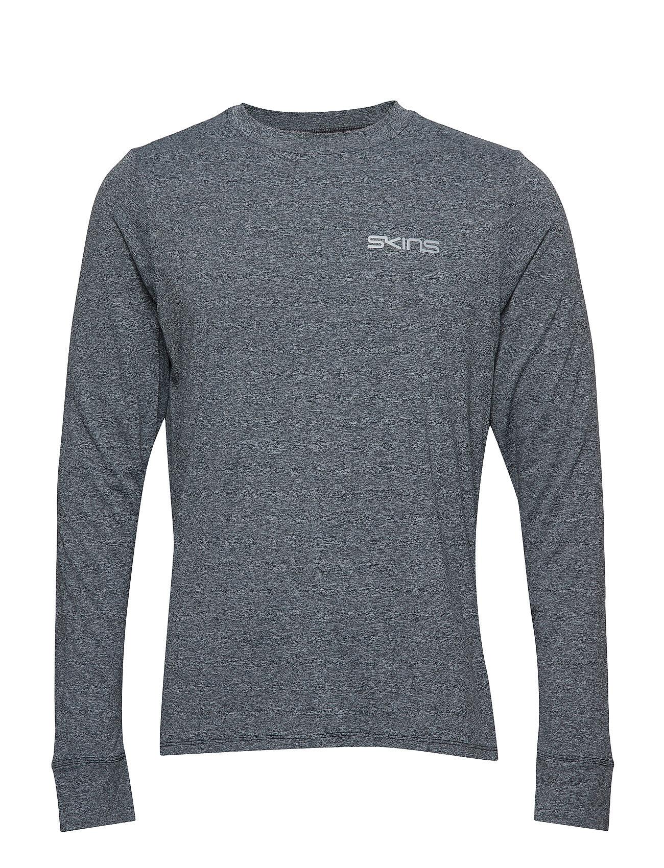 Skins Activewear Bergmar Mens Active Top L S Round Neck Ögrönlar
