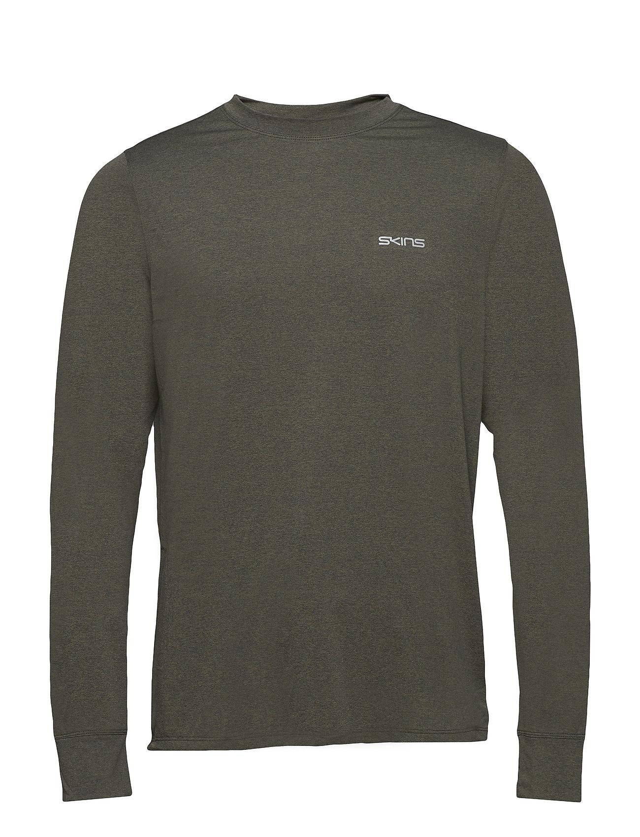 Skins Activewear Bergmar Mens Active Top L/S Round Neck