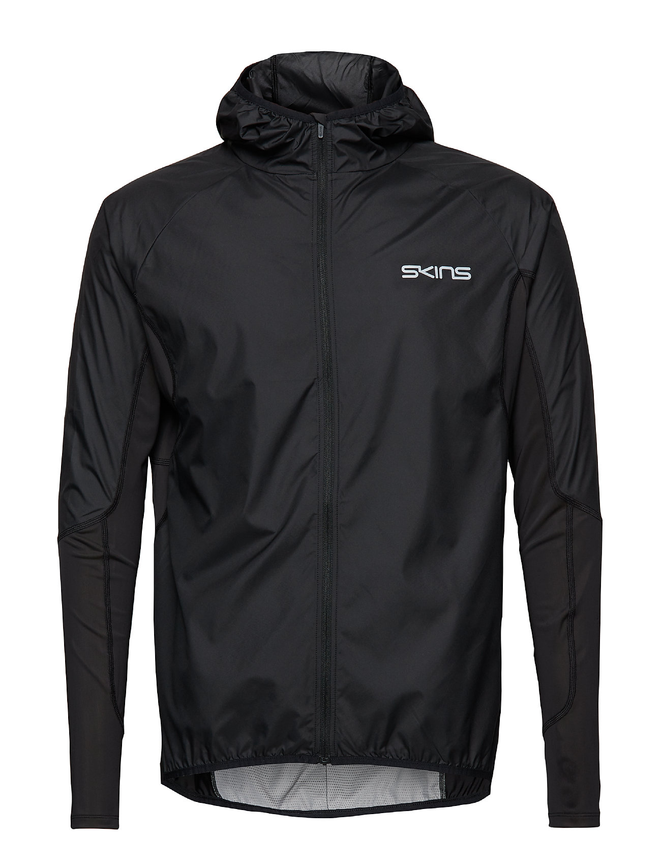 Skins Activewear Rone Enigineered Mens Wind Jacket - BLACK