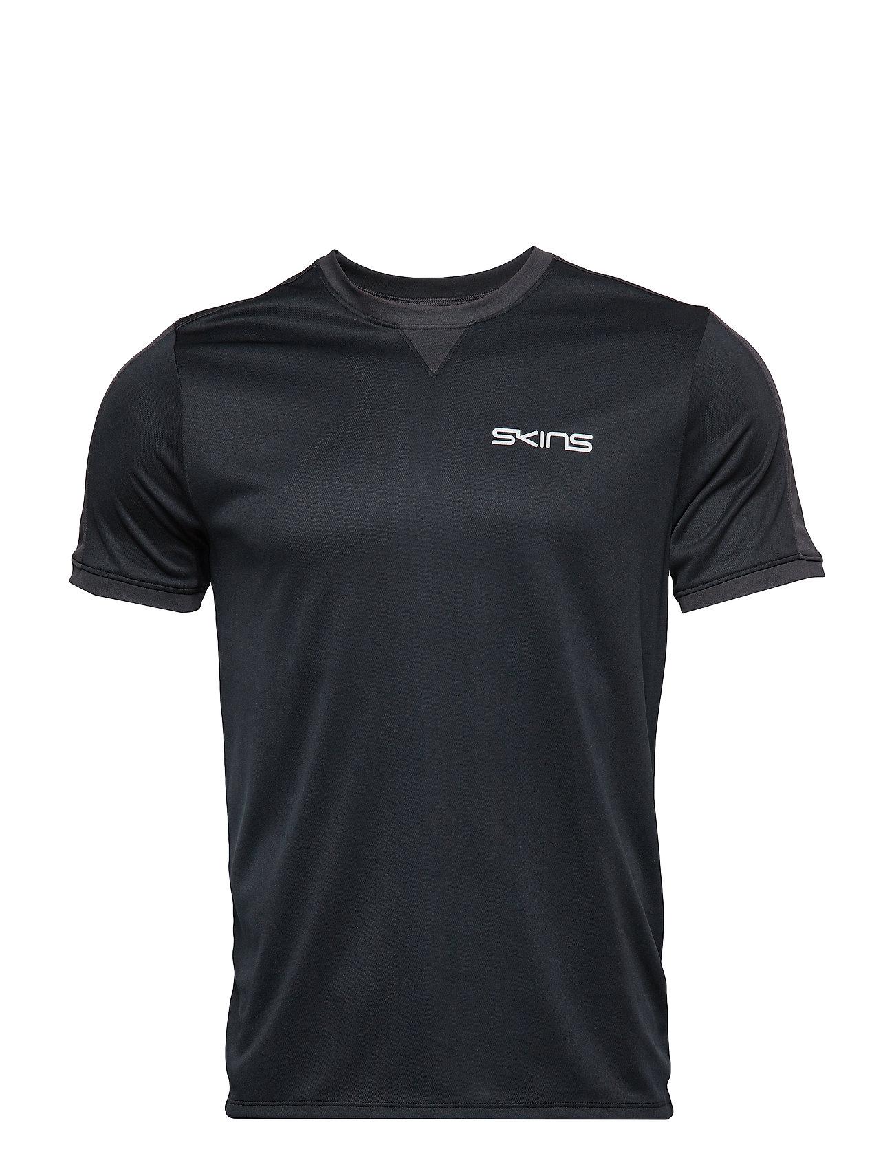 Skins Activewear Sveg Mens Training Top S/S Round Neck
