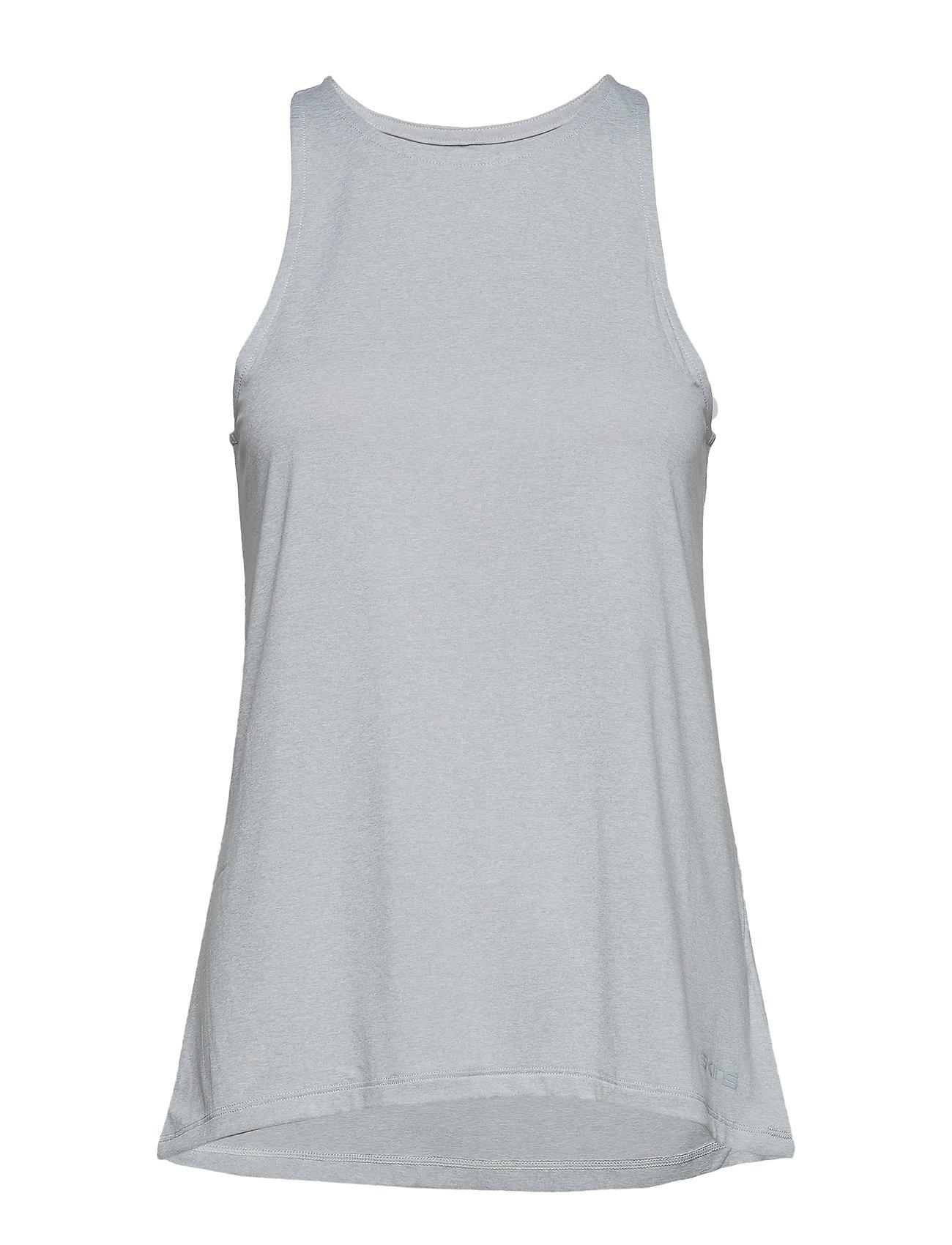 Skins Activewear Siken Womens Tank Top - SILVER MARLE