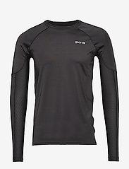 Skins - DNAmic Primary Mens L/S Top - bluzki z długim rękawem - black - 0