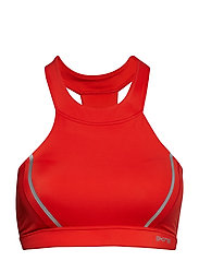 DNAmic Speed Womens Sports Bra - CORAL RED