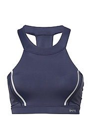 DNAmic Speed Womens Sports Bra - NAVY BLUE