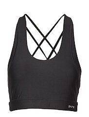 DNAmic Soft Womens Sports Bra - BLACK