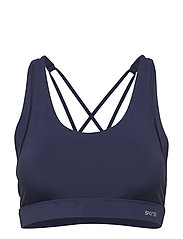 DNAmic Soft Womens Sports Bra - NAVY BLUE