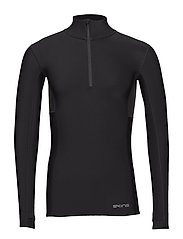 DNAmic Thermal Mens L/S MckNeck - BLACK/CHARCOAL