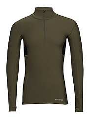DNAmic Thermal Mens L/S MckNeck - UTILITY/BLACK