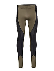 DNAmic Ultimate K-Proprium X-FIT Mens Long Tights - UTILITY/BLACK