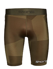 DNAmic Primary Mens 1/2 Tights - DECONSTRUCTED CAMO UTILITY