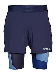 DNAmic Primary Mens Superpose 1/2 Tight - NAVY/CAMO-CLASSIC BLUE