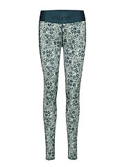 DNAmic Primary Womens Long Tights - PETIT FLORAL LITCHEN