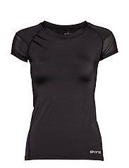 DNAmic Primary Womens S/S Top - BLACK