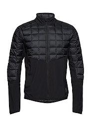 Activewear Jedeye Mapped Down Mens Jacket - BLACK