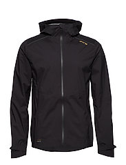 Activewear Jedeye Nano 3L Mens Rain Jacket - BLACK