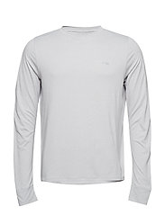 Activewear Bergmar Mens Active Top L/S Round Neck - SILVER MARLE