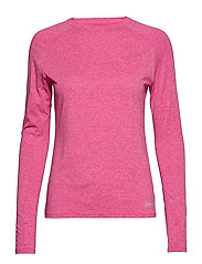 Activewear Siken Womens L/S Top - PINK MARLE