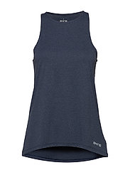 Activewear Siken Womens Tank Top - NAVY BLUE MARLE