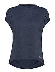Activewear Siken Womens T-Shirt - NAVY BLUEMARLE