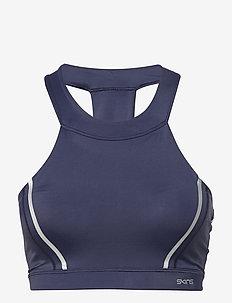 DNAmic Speed Womens Sports Bra - NAVY BLUE