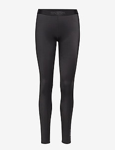 DNAmic Womens Long Tights - BLACK/BLACK