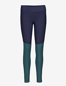 DNAmic Soft Womens Long Tights - NAVY BLUE/DEEP TEAL