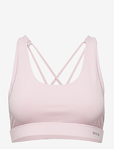 DNAmic Soft Womens Sports Bra - CAMEO PINK