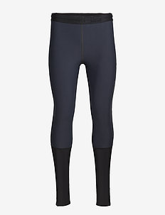 DNAmic Thermal Windproof Mens Long Tights - BLACK/CHARCOAL